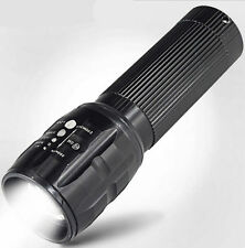 AAA Hot NEW XM-L T6 Flashlight Torch Light Zoomable HOT LED 5000LM 2016
