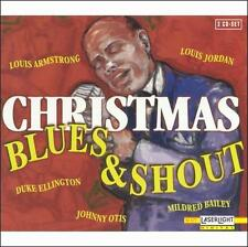 Christmas Blues & Shout: Various Artists (Box CD,1998, 3 Disc,Laserlight) SEALED