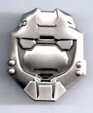 "Halo 3 War Game Pewter Master Chief Helmet Pin 1 ½""  (HOPI-01)"