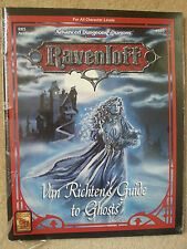 "RAVENLOFT ""VAN RICHTEN'S GUIDE TO GHOSTS"" AD&D 2nd Ed FACTORY SEALED ~RR5 TSR"