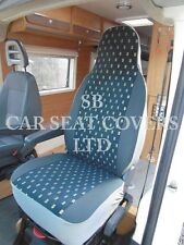 TO FIT A MERCEDES SPRINTER MOTORHOME, 2006, SEAT COVERS, ELLIE BLUE MH-703