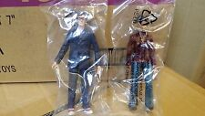 Doctor Who lot of 2 figures in bags 10th Doctor and Martha