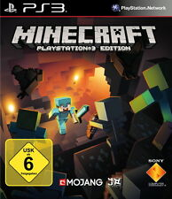 Minecraft: PlayStation 3 Edition (Sony PlayStation 3, 2014, DVD-Box) NEU OVP