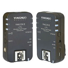 Yongnuo 2x YN-622N II Wireless TTL Flash Trigger for Nikon D7100 D7000 D90 D800