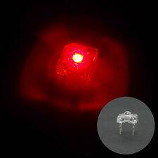 100 pcs 3mm Piranha Super Flux LED Light Bulb Sign Car Lights 15000 mcd Red