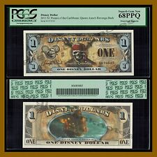 "Disney 1 Dollar, 2011 ""E"" Series Pirates of the Caribbean PCGS 68 PPQ"