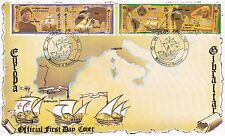 Gibraltar 1992 Europa Columbus Discovery America First Day Cover 06/02 SG 669-72