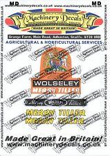 MERRY TILLER/WOLSELEY DECALS