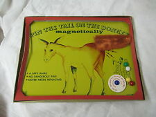 Vintage NSC NY magnetic Pin the Tail on the Donkey Game