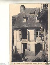 65 - cpa - LOURDES - Maison paternelle de Bernadette Soubirous ( i 3703)