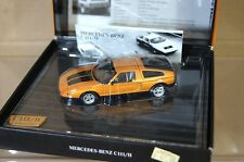 MINICHAMPS 436 030060 MERCEDES BENZ C111/II COUPE GOLD MINT BOXED nd