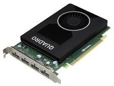 DELL nVidia QUADRO M2000 4Gb GDDR5 PCI-E Card 768 CUDA Cores P/N : W2TP6