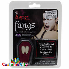Adults Vampire Fang Tooth Caps Dracula Teeth Halloween Fancy Dress Accessory