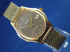 Gents NOS Vintage Nidor Automatic Watch Circa 1970s Swiss New Old Stock