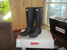 HUNTER WELLINGTONS IN HALIFAX & BRADFORD  BLACK ORIGINAL WOMENS  TALL SIZE 5
