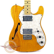 VINTAGE 1974 FENDER TELECASTER TELE THINLINE II SEMI HOLLOW BODY ELECTRIC GUITAR