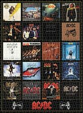 Jigsaw puzzle Entertainment Music AC DC Album Covers 1000 piece NEW