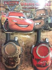 NEW Cars Mcqueen Walkie Talkies children freetalker two way  & watch