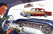 1956 Oldsmobile SUPER 88, 2 door, Tutone w/Dash, Refrigerator Magnet, 40 MIL