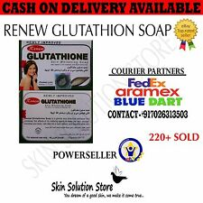 1 PC AUTHENTIC RENEW GLUTATHIONE SOAP WITH ORIGINALITY HOLOGRAM AND SEAL PACK