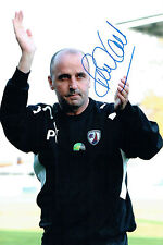 Paul COOK Signed Autograph 12x8 CHESTERFIELD Manager Photo AFTAL COA
