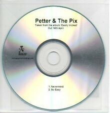 (786B) Petter & The Pix, Nevermind / So Easy - DJ CD