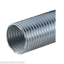 "Aluminium Flexible Pipe 70mm / 2.76"" Length - 2.5m Air Ducting Hose Liner Tube"