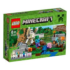 21123 LEGO The Iron Golem Minecraft Age 8+ / 208 Pieces / NEW 2016 RELEASE!