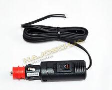 Verlängerungskabel m. Schalter Zigarettenanzünder 12 Volt  8 Ampere  Kabel