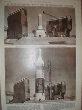 Photo article USAF Vandenberg Air Force Base titan missile 1960 USA