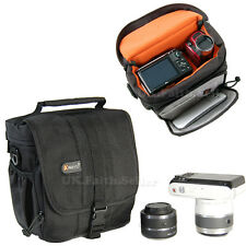 Water-proof Bridge Camera Shoulder Case Bag For Fuji FinePix S4400 X-Pro1 X-E1