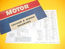 1975 1976 PONTIAC GRAND PRIX FIREBIRD TRANS AM LEMANS VACUUM+WIRING DIAGRAMS