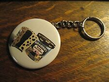 Ben & Jerry's Keychain - RePurposed Advertisement Backpack Purse Clip Ornament