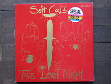 "LP-Soft Cell-this last night ""perfetto!"""