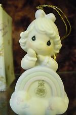 "Precious Moments-#PM041 ""You Are The End Of My Rainbow"" 1994 LTD EDITION-ORN-NIB"