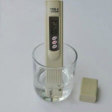 DIGITAL TDS 3 WATER QUALITY PURITY TESTER METER PPM hydroponics drinking ZZ