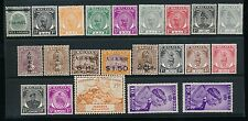 MALAYA STATES 1900-1950 MINT RANGE 22 stamps ALL DIFFERENT