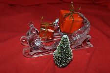 Swarovski Crystal Winter Sleigh with gifts 205165 / 7475 000 601 MIB W/COA   5
