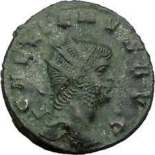 GALLIENUS son of Valerian I Ancient Roman Coin Sol  Cult Sun God Cult    i34519