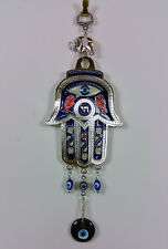 Hamsa hand evil eye full protection wall hanging #001