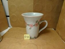 Pink Roses Coffee Mug, Susan Steinberg Design, Papel Giftware (Used/EUC)