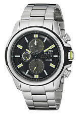 Citizen CA0428-56E Men's DRIVE AR 2.0 Stainless Steel Chronograph Watch