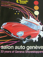 CLASSIC CAR SUPPLEMENT MAGAZINE APR 1994 SALON AUTO GENEVE 33 YEARS SHOWSTOPPERS