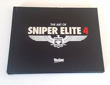 Artbook - Sniper Elite 4 IV - Rare - PS4 Xbox One Pc - 92 Pages - Neuf