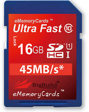 16GB Memory card for Sanyo Xacti VPC CG21 Camcorder | Class 10 SD SDHC New