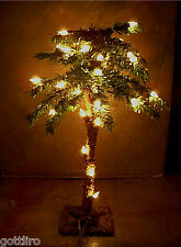 New 18 inch Lighted Mini Christmas Palm Tree  35 lights each