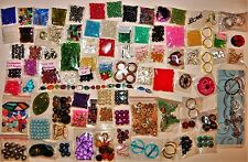 HUGE LOT OF BEADS VARIOUS SIZES JEWELRY MAKING SUPPLIES FINDINGS PENDANTS CHARMS