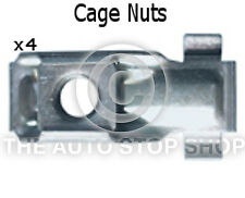 Metal Cage Nuts Peugeot Range: 1007/106/2008/206/207/208/301 etc 1399pe  4 Pack