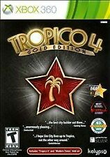Tropico 4: Gold Edition (XBOX 360, 2012, PAL formatting) Ships within 12 hours!!