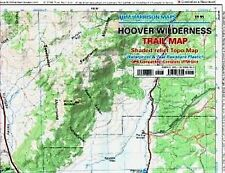 Tom Harrison Maps: Hoover Wilderness Trail Map : Shaded-Relief Topo Map by...